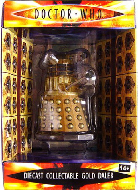 Doctor Who Dalek Collectible Figure [Gold]