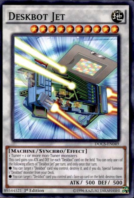 YuGiOh Dimension of Chaos Common Deskbot Jet DOCS-EN049