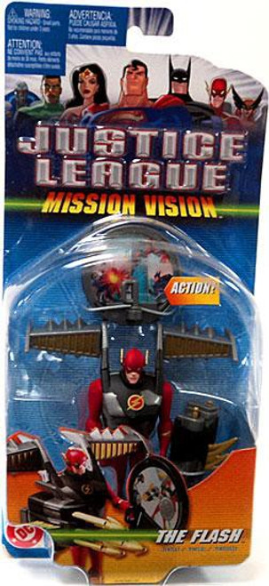 Justice League Mission Vision The Flash Action Figure [Armored]