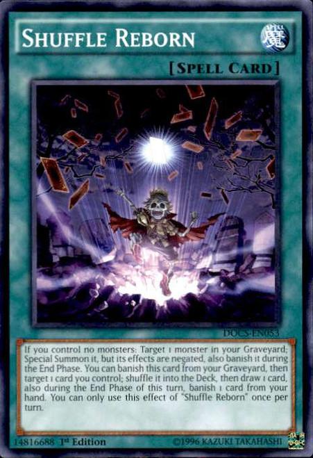 YuGiOh Dimension of Chaos Common Shuffle Reborn DOCS-EN053