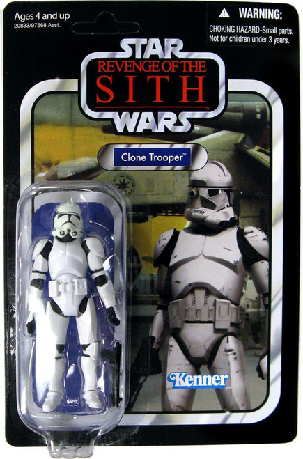 Star Wars Revenge of the Sith Vintage Collection 2010 Clone Trooper Action Figure #15 [Discolored Helmet]