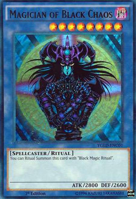 YuGiOh Yugi's Legendary Decks Ultra Rare Magician of Black Chaos YGLD-ENC01
