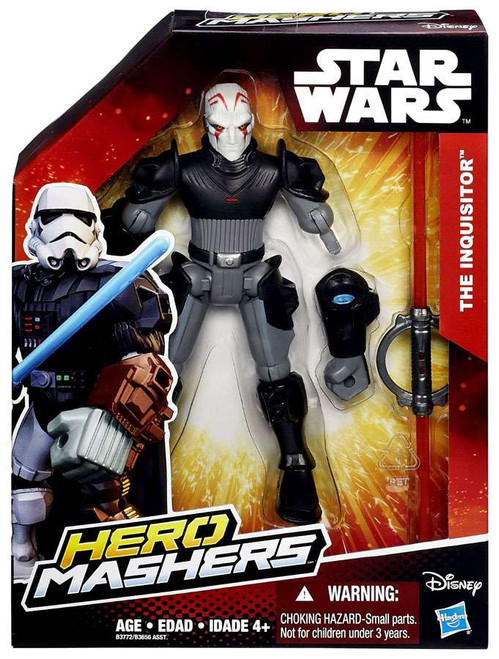 Star Wars The Force Awakens Hero Mashers The Inquisitor Action Figure