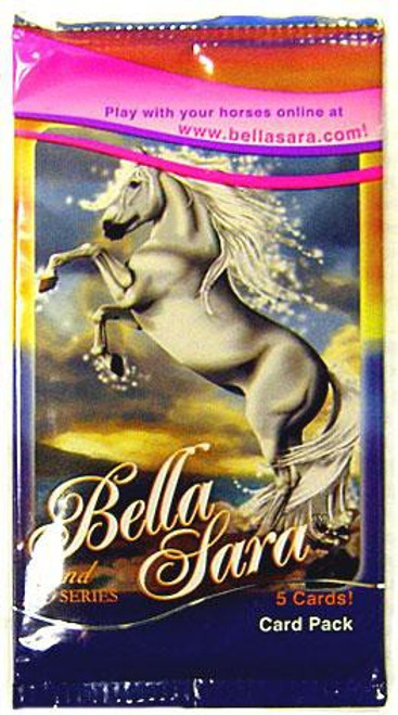 Bella Sara Collectible Card Game 2nd Series Booster Pack [5 Cards]
