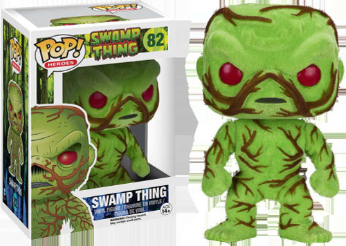 Funko POP! Movies Swamp Thing Exclusive Vinyl Figure #82 [Flocked]