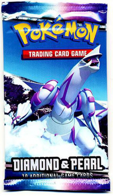 Pokemon Trading Card Game Diamond & Pearl Booster Pack [10 Cards]