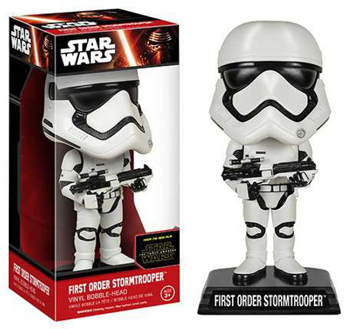 Funko Star Wars The Force Awakens First Order Stormtrooper Bobble Head