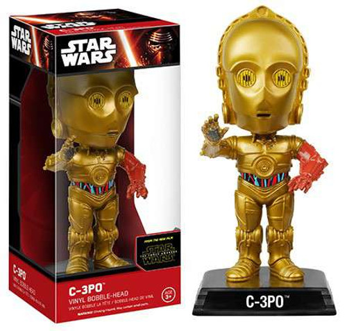 Funko Star Wars The Force Awakens C-3PO Bobble Head