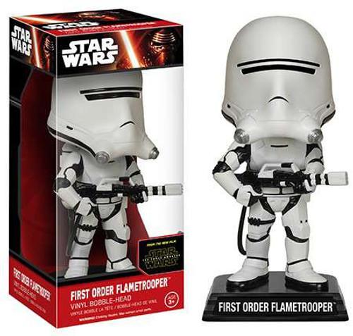 Funko Star Wars The Force Awakens First Order Flametrooper Bobble Head
