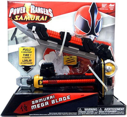 Power Rangers Battle Gear Samurai Mega Blade Roleplay Toy