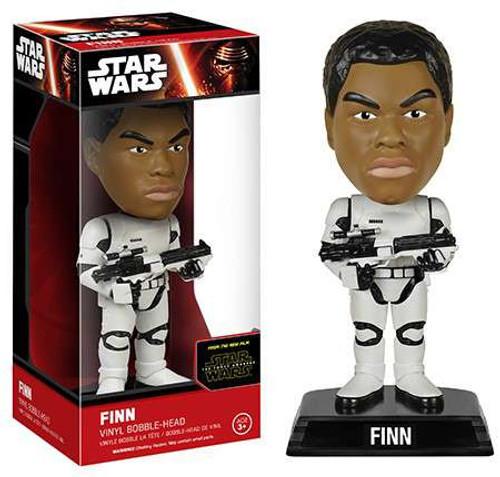 Funko Star Wars The Force Awakens Wacky Wisecracks Finn Bobble Head