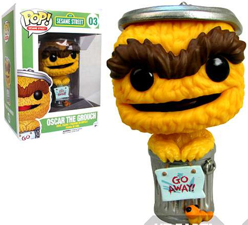 Funko Sesame Street POP! TV Oscar The Grouch Exclusive Vinyl Figure #03 [Orange Debut Variant]