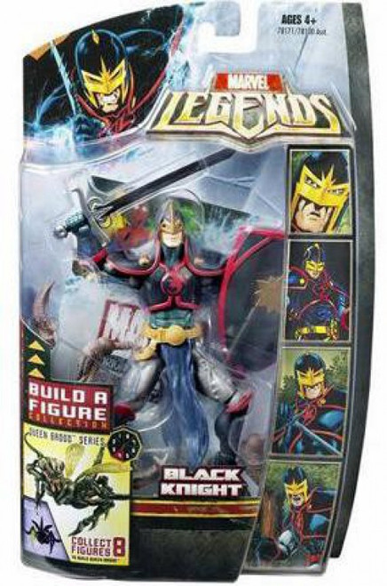 Marvel Legends Brood Queen Series Black Knight Action Figure