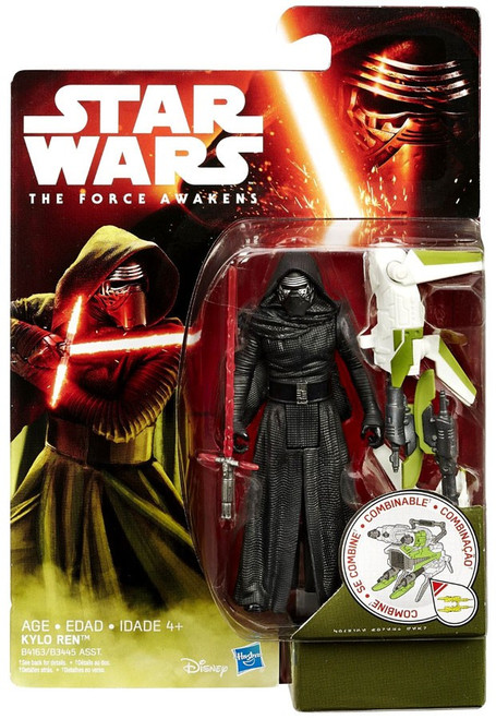 Star Wars The Force Awakens Jungle & Space Kylo Ren Action Figure