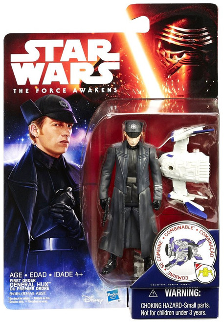 Star Wars The Force Awakens Jungle & Space First Order General Hux Action Figure [Space Mission]
