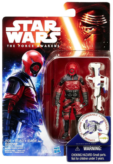 Star Wars The Force Awakens Jungle & Space Guavian Enforcer Action Figure [Space Mission]
