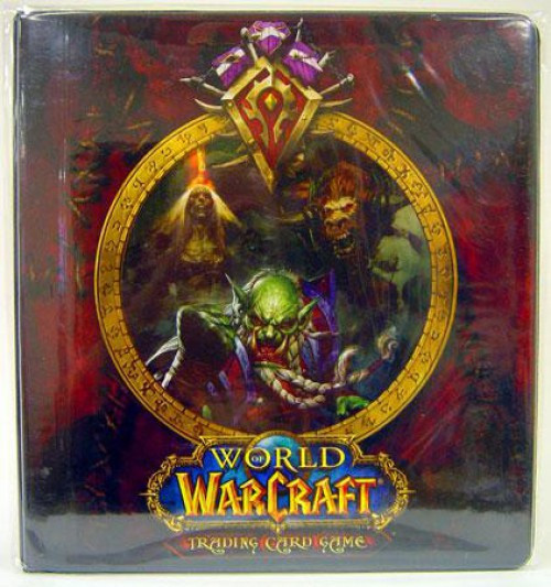 World of Warcraft Card Supplies Horde 2-Inch D-Ring Binder