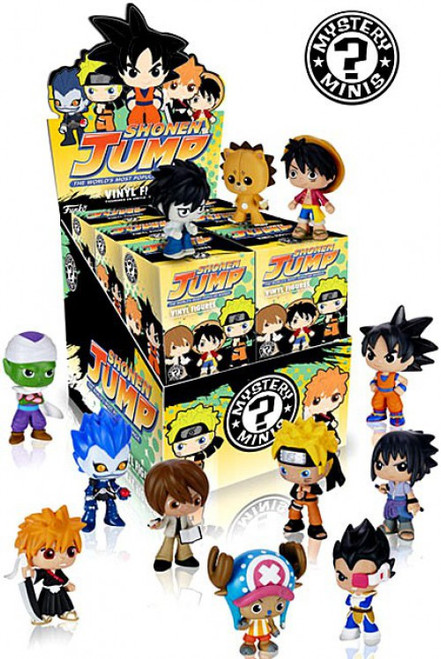 Funko Mystery Minis Anime Series 2 (Shonen Jump) Mystery Box [12 Packs]