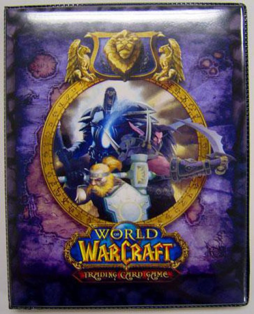 World of Warcraft Card Supplies Alliance 4-Pocket Binder