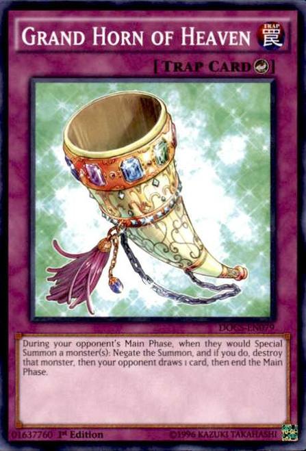 YuGiOh Dimension of Chaos Common Grand Horn of Heaven DOCS-EN079