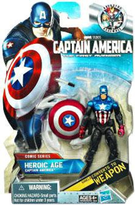 The First Avenger Comic Series Heroic Age Captain America Action Figure #5