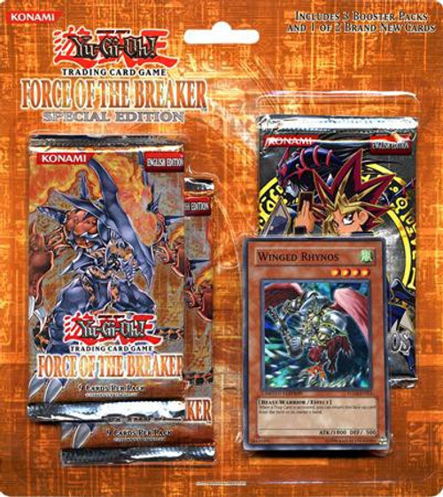 YuGiOh Trading Card Game Force of the Breaker Special Edition [Winged Rhynos]
