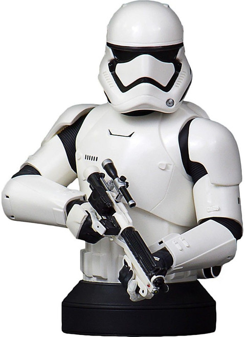 Star Wars The Force Awakens First Order Stormtrooper Deluxe Mini-Bust