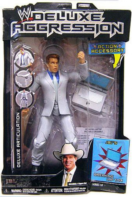 WWE Wrestling Deluxe Aggression Series 10 JBL Action Figure