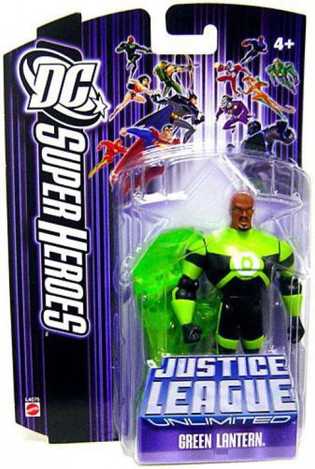 DC Justice League Unlimited Super Heroes Green Lantern Action Figure [Purple Card]