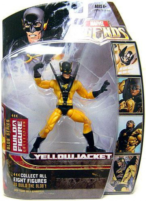 Marvel Legends Blob Series Yellowjacket Action Figure [Variant]