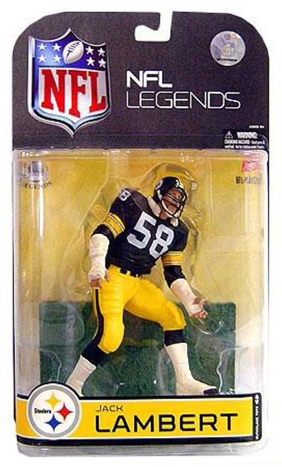 McFarlane Toys NFL Pittsburgh Steelers Sports Picks Legends Series 4 Jack Lambert Action Figure [Black Face Mask]