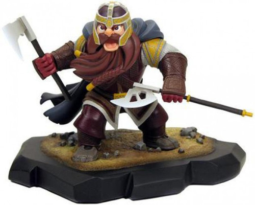 The Lord of the Rings Animated Style Gimli Maquette