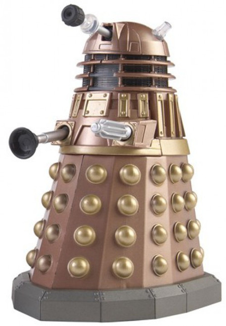 Doctor Who Underground Toys Series 1 Gold Dalek Action Figure [Mutant Reveal]