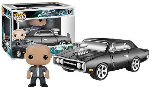 Funko Fast & Furious POP! Rides 1970 Charger with Dom Toretto Vinyl Figure #17