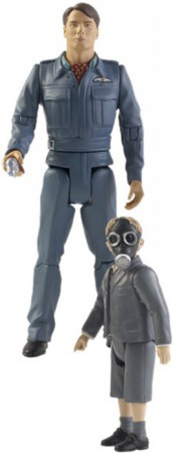 Doctor Who Underground Toys Series 1 Captain Jack Harkness & The Empty Child Action Figure 2-Pack