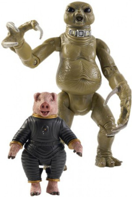 Doctor Who Underground Toys Series 1 Slitheen & The Space Pig Action Figure 2-Pack