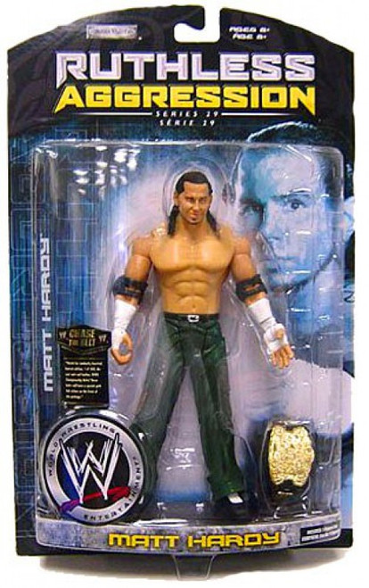 WWE Wrestling Ruthless Aggression Series 29 Matt Hardy Action Figure