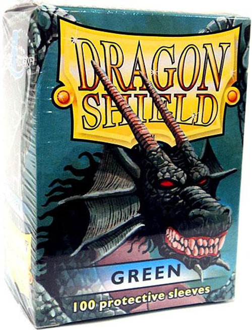 Card Supplies Dragon Shield Green Standard Card Sleeves [100 Count]
