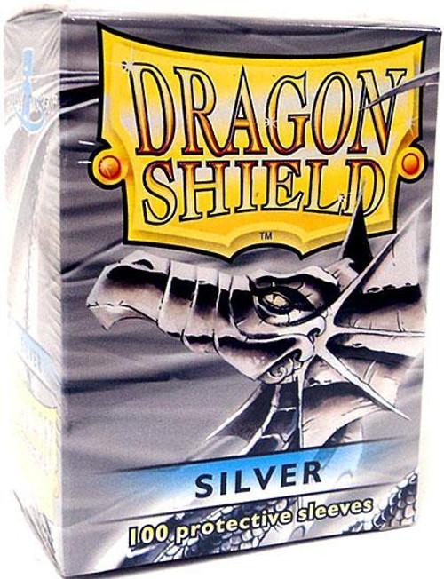 Card Supplies Dragon Shield Silver Standard Card Sleeves [100 Count]
