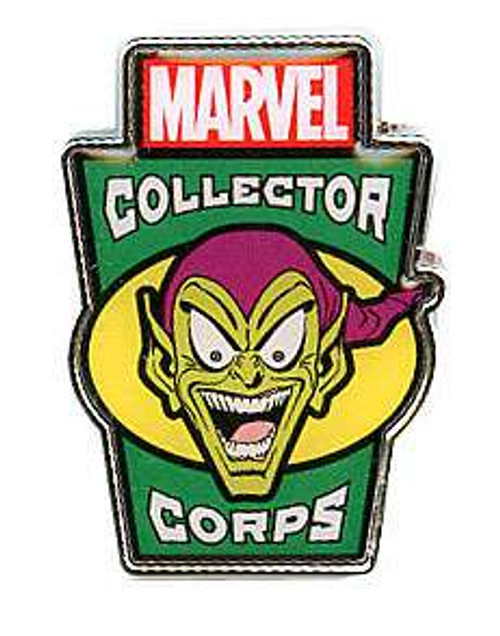 Funko Marvel Collector Corps Green Goblin Exclusive Pin