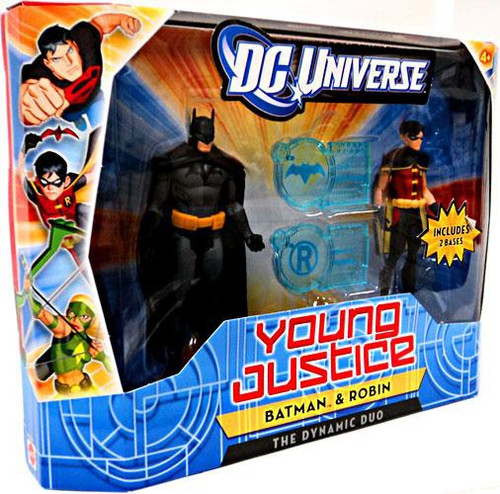 DC Universe Young Justice Batman & Robin Action Figure 2-Pack [The Dynamic Duo]