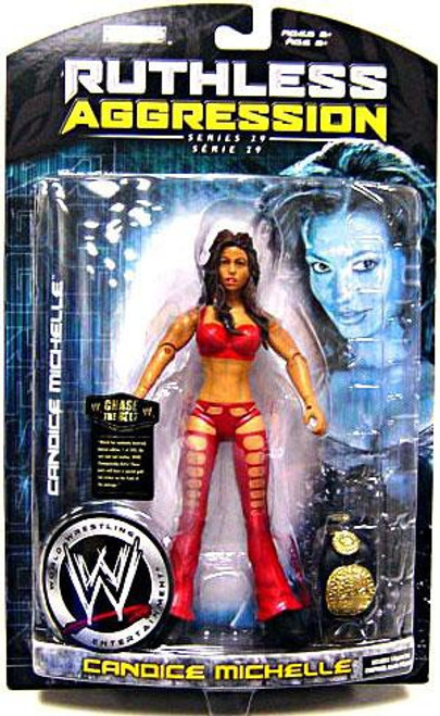 WWE Wrestling Ruthless Aggression Series 29 Candice Michelle Action Figure