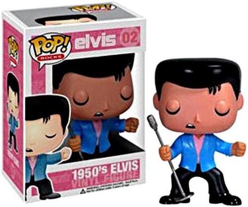 Funko Elvis Presley POP! Rocks 1950's Elvis Vinyl Figure #02