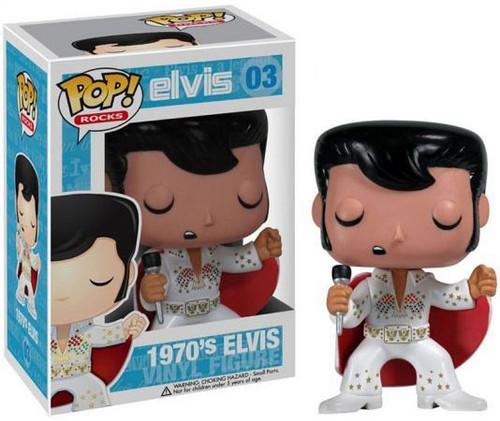 Funko Elvis Presley POP! Rocks 1970's Elvis Vinyl Figure #03