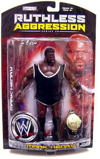 WWE Wrestling Ruthless Aggression Series 30 Mark Henry Action Figure
