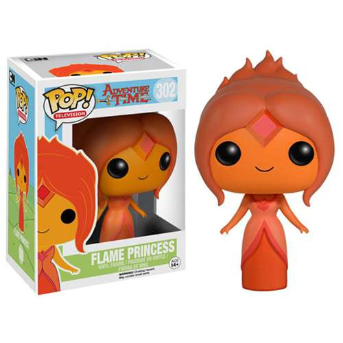 Funko Adventure Time POP! TV Flame Princess Vinyl Figure #302