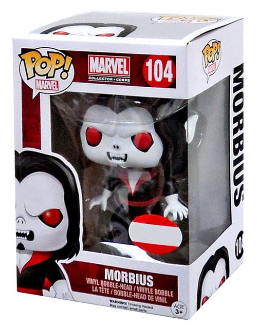 Funko POP! Marvel Morbius Exclusive Vinyl Bobble Head #104