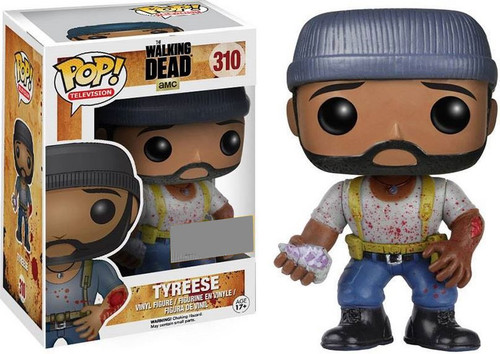 Funko The Walking Dead POP! TV Tyreese Exclusive Vinyl Figure #310 [Bloody Bitten Arm]