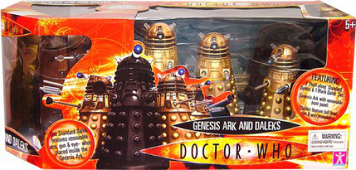 Doctor Who Genesis Ark and Daleks Action Figure Set