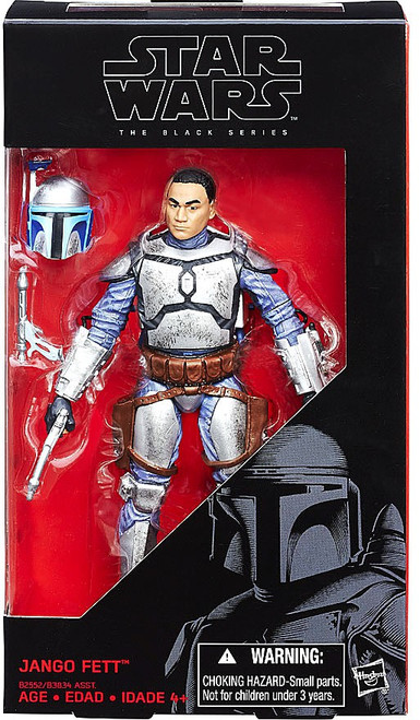 Star Wars Attack of the Clones Black Series Jango Fett Action Figure
